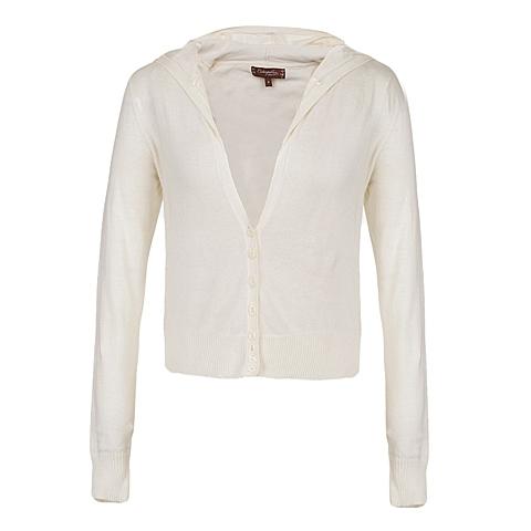 CAT/卡特 专柜同款 女装乳白毛衣CC1WWLSC684G18