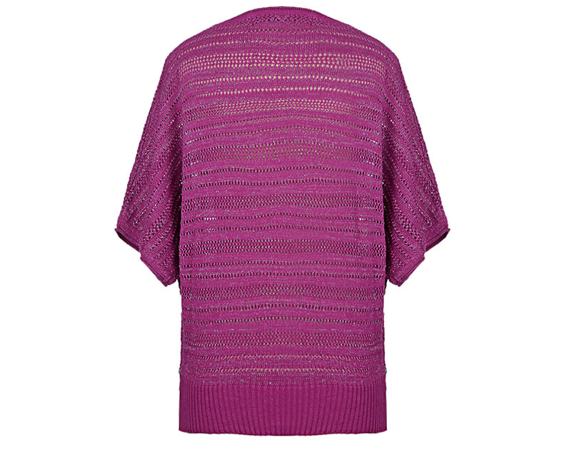 CAT/卡特 专柜同款 女装粉紫毛衣CC1WWSSO682F83