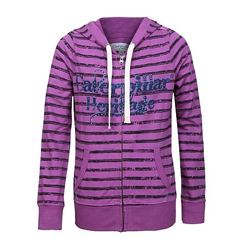 CAT/卡特 专柜同款 女粉紫卫衣CC1WKHOZ661F83