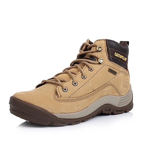 CAT卡特秋冬黄色牛皮/合成革男士户外休闲鞋P717911D3PDA40活跃装备(Active)
