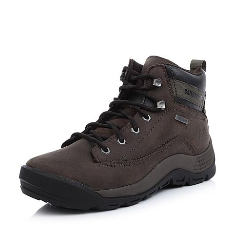 CAT卡特青色牛皮/合成革男士户外休闲鞋P717909D3PDA60活跃装备(Active)