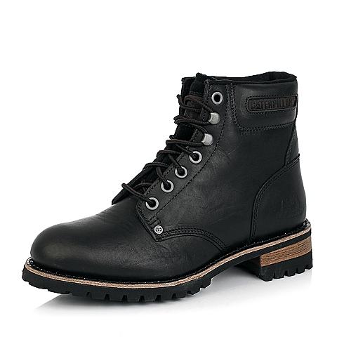 CAT卡特黑色牛皮男士户外休闲鞋P717704D3CDY01年轻复古(Y H)
