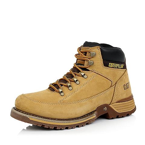 CAT卡特黄色户外休闲男低靴P717846D3VDI40
