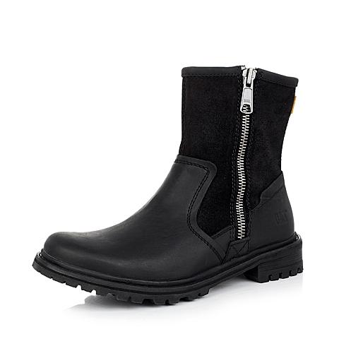 CAT卡特黑色男士户外休闲中靴P717866D3FZY01年轻复古(Y H)