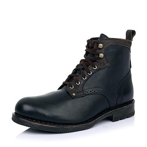 CAT卡特暗蓝色牛皮男士户外休闲低靴P717861D3BDL79传奇复古(LRC)