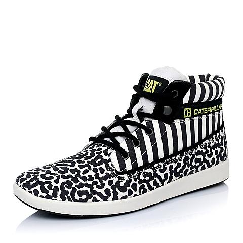 CAT卡特黑白色合成革男士户外休闲低靴P718021D3MDC09潮流密码(CODE)
