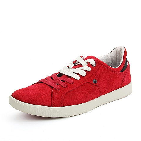 CAT/卡特专柜同款男装红色猪皮休闲鞋P717928E1KMC20
