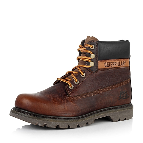 CAT/卡特棕牛皮户外休闲鞋 粗犷装备(RUGGED)P717694D3BDR36