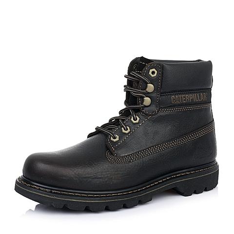 CAT/卡特深咖色牛皮户外休闲鞋 粗犷装备(RUGGED)P717696D3BDR34