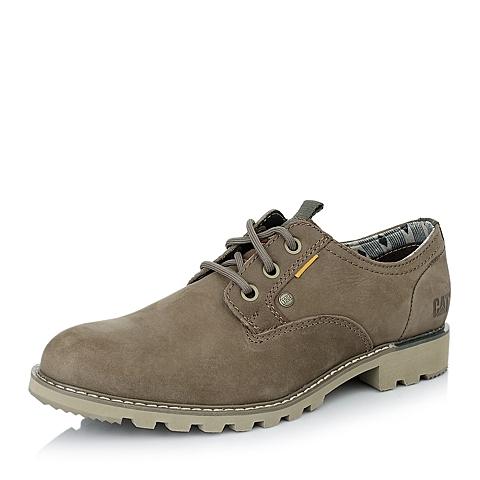 CAT卡特春夏专柜同款男子浅棕牛皮休闲满帮鞋P717151E1WMY35年轻复古(Y H)