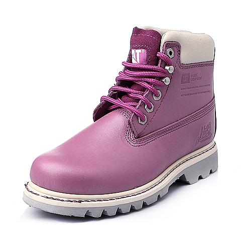 CAT/卡特紫色女靴粗犷装备(Rugged)CAT粗犷P306242E3XDR81