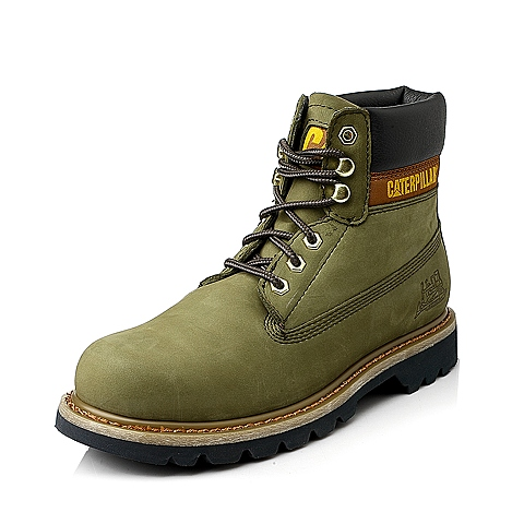 CAT/卡特年芥末绿男装休闲靴粗犷装备(Rugged)P717689E3BDR53