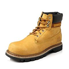 CAT/卡特年亮黄色男装休闲靴粗犷装备(Rugged)P717692E3BDR44