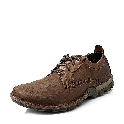 CAT/卡特专柜同款棕色男休闲鞋I-科技(ITECH)P716743E3WMI36