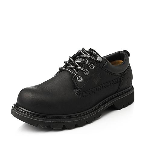 CAT/卡特专柜同款黑色男装休闲鞋粗犷装备(Rugged)P717801E3BMR01