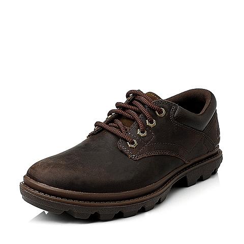 CAT/卡特深棕色专柜同款男休闲鞋粗犷装备(Rugged)P716368E3YMR37