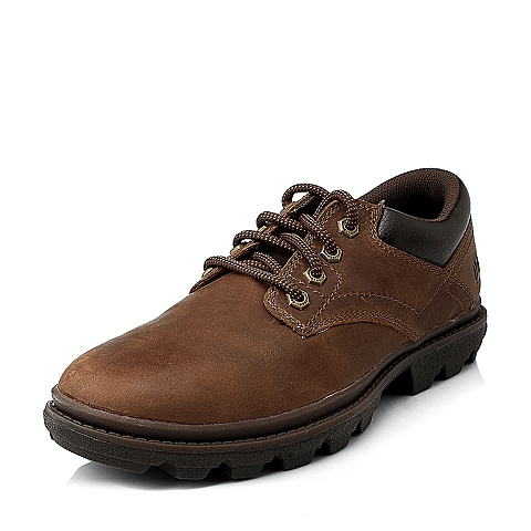 CAT/卡特专柜同款棕色男休闲鞋粗犷装备(Rugged)P716368E3YMR37