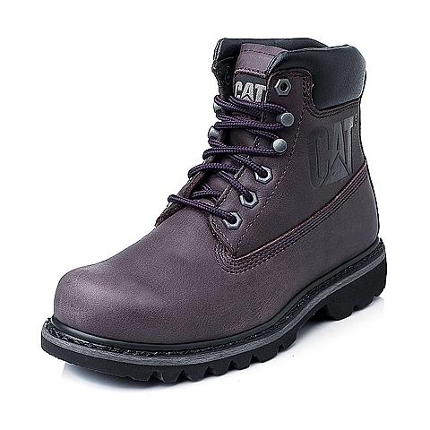 CAT/卡特暗紫色女装休闲靴粗犷装备(Rugged)P307016E3BDR85