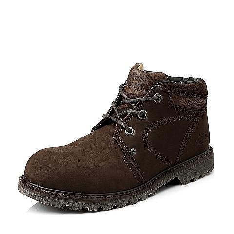 CAT/卡特男子深咖低靴P707777E3XDR34粗犷装备(Rugged)