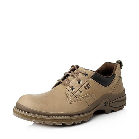 CAT/卡特年专柜同款黄牛皮男户外休闲满帮鞋I-科技(iTech)P712279E3VMI41