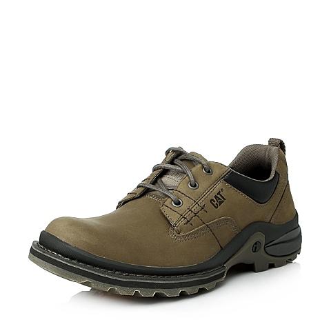 CAT/卡特年专柜同款青灰牛皮男户外休闲满帮鞋I-科技(iTech)P712279E3VMI41