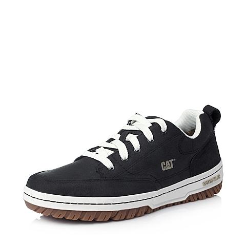 CAT/卡特年黑色牛皮男户外休闲满帮鞋活跃装备(Active)P717759E3YMA01