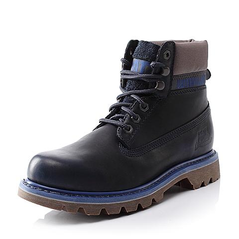 CAT/卡特亮蓝色男装休闲靴粗犷装备(Rugged)P716716E3BDR72