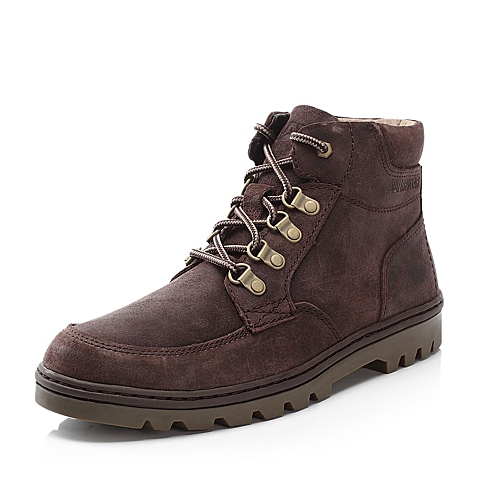 CAT卡特牛皮男士户外休闲低靴P718929E3WDR43粗犷装备(Rugged)