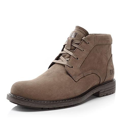 CAT卡特牛皮男户外休闲低靴P719119E3UDR01粗犷装备(Rugged)