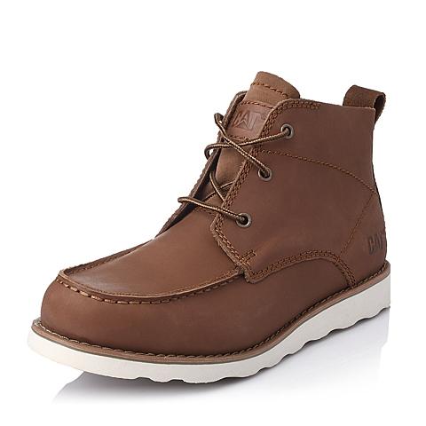 CAT/卡特专柜同款男户外休闲低靴P713596E3EDR40粗犷装备(Rugged)