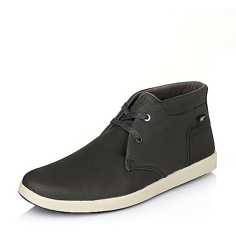CAT/卡特专柜同款灰色牛皮男子户外休闲靴P720077E3EDC35  潮流密码