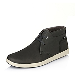 CAT/卡特专柜同款灰色牛皮男子户外休闲靴P720076E3EDC02  潮流密码