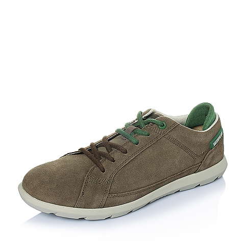 CAT卡特2016年春夏青褐色牛皮男士休闲鞋潮流密码(CODE)P719785F1KMC45