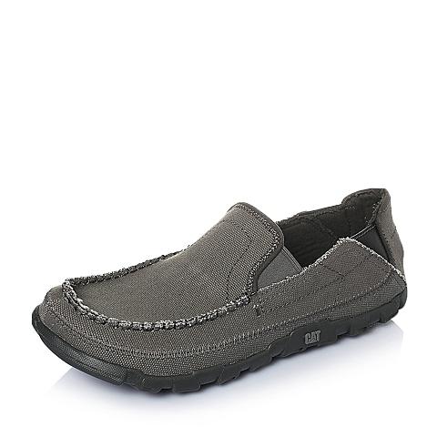 CAT卡特2016年春夏深灰色织物男士休闲鞋休闲装备(Casual)P714830F1EMS08