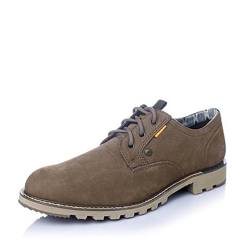 CAT/卡特2016年春夏浅棕色牛皮男士休闲鞋年轻复古(Young Heritage)P720849F1EMY35