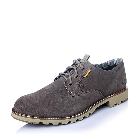CAT/卡特2016年春夏深灰色牛皮男士休闲鞋年轻复古(Young Heritage)P720807F1EMY03