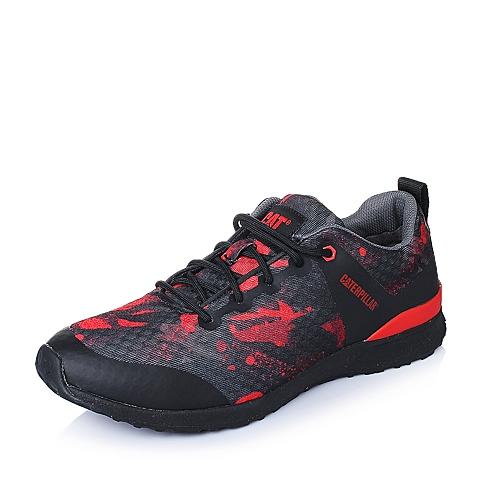 CAT卡特2016年春夏红黑印花男士休闲鞋活跃装备(Active)P719765F1KMA97