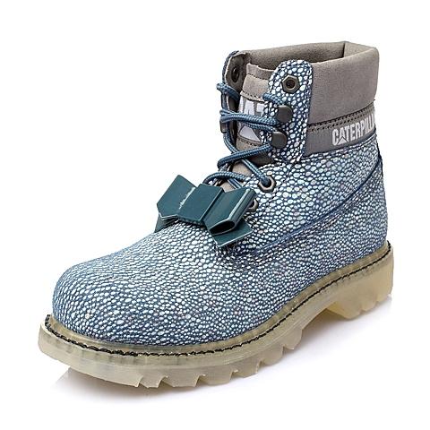 CAT卡特年春专柜同款浅蓝色女士休闲靴粗犷装备(Rugged)P308371F1BDR73