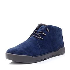 CAT/卡特秋冬 蓝色猪皮男士户外休闲鞋活跃装备(Active)P720466F3YDA36