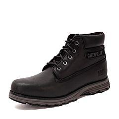 CAT/卡特秋冬 黑色牛皮男士户外休闲鞋粗犷装备(Rugged)P717822F3MDR01