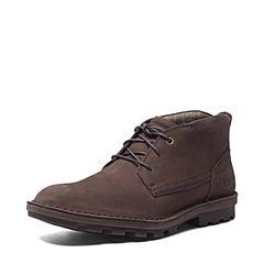 CAT/卡特秋冬 咖色牛皮男士户外休闲鞋粗犷装备(Rugged)P719884F3UDR31