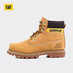 CAT/卡特秋冬 黄色牛皮/织物男士户外休闲鞋粗犷装备(Rugged)P441009F3UDR40