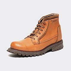 CAT/卡特秋季专柜同款亮棕色牛皮/牛剖层革男户外休闲鞋粗犷装备P720676F3UDR18