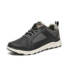CAT/卡特秋季专柜同款黑色合成革/织物男户外休闲鞋活跃装备P720502F3FMA09