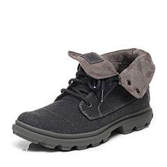 CAT/卡特专柜同款紫灰色织物男休闲鞋粗犷装备(Rugged)P719916