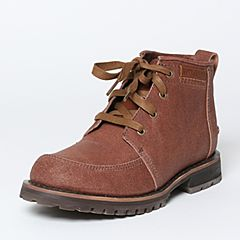 CAT/卡特秋季专柜同款红棕色牛剖层革/牛皮/织物男户外休闲鞋传奇复古P720567F3UDL43