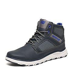 CAT/卡特秋季专柜同款深灰色合成革/织物男户外休闲鞋活跃装备P720499F3FDA08
