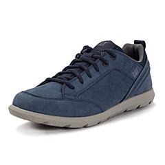 CAT/卡特2017春夏新款深蓝色牛皮男休闲鞋活跃装备(Active)P721148G1KMA78