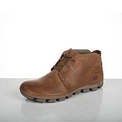 CAT/卡特专柜同款亮棕色牛皮革/织物男户外休闲鞋粗犷装备(Rugged)P721260G1UMR18