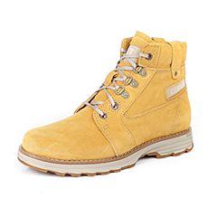 CAT/卡特专柜同款春夏卡特专柜同款黄牛皮革女户外休闲鞋粗犷装备(Rugged)P309219G1MDR28